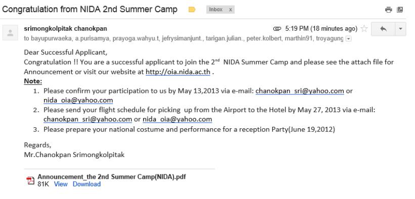 NIDA summer camp2